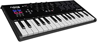 M-Audio Axiom AIR Mini 32 - Teclado controlador MIDI USB de 32 teclas sensibles a la velocidad, 8 pads + ProTools | First M-Audio Edition, Eleven Lite, Ableton Live Lite, AIR Music Tech - Xpand!2