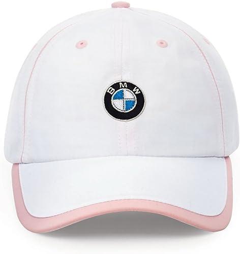 BMW Ladies' Microfiber Cap White/Pink