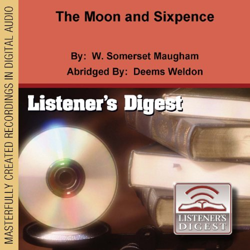 The Moon and Sixpence audiobook cover art
