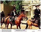 from Noon Til Three Original 8x10 Lobby Card Charles Bronson on Horseback