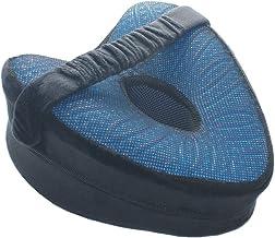 وسادة الركبة من الجل من DDYURI مع حزام للأقدام المرتفعة على الأريكة أو السرير - وسادة نوم من الإسفنج الذكي تساعد على ضبط و...