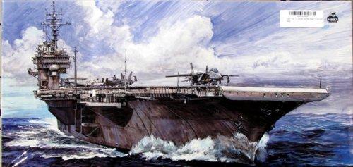 フジミ模型 1/700 航空母艦CV63キティホーク98