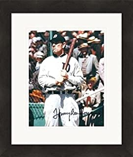 Tommy Lee Jones autographed 8x10 photo (Detroit Tigers, Ty Cobb) Matted& Framed - Autographed MLB Photos