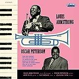 Louis Armstrong Meets Oscar Peterson (Alternative Original Cover) (180G/Direct Metal Mastering) (Vinyl)