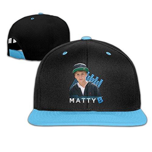 IGiGT Sombreros Matty B Raps para niños y niñas Hip Hop Gorras de béisbol