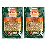 Lote de 2 semillas de cilantro – Abido – Bolsa de 50 g