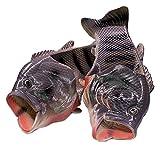 [TaCo] 魚サンダル リアル ギョサン おもしろグッズ サンダルシューズ スリッパ メンズ レディース キッズ ブラック 36