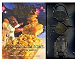 NEW SEALED 2017 Star Wars Cookbook + 3 Cookie Cutters Yoda Darth Vader R2D2