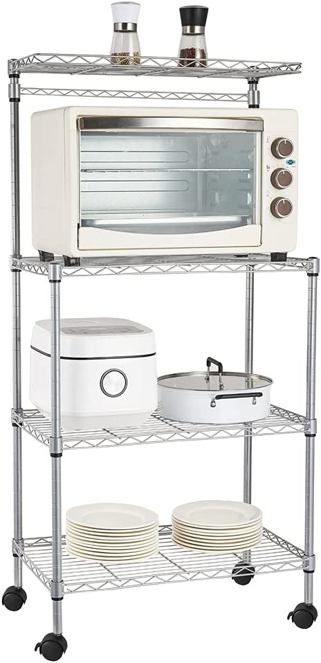YOUBTQ Standing Baker's Racks Max 41% OFF Kitchen Microwave 4 L Oven depot Stand