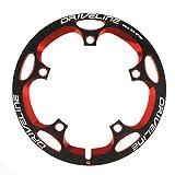 Driveline ドライブライン スーパーガード G2モデル 48T 黒赤 ブラックレッド Black/Red 自転車用 バッシュガード チェーンリングガード BCD130mm 【正規輸入品】