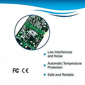 HQRP AC Adapter Works with Samsung BN44-00827A HW-J6000 HW-J4000 HW-J6500 HW-J6500R HW-JM4000C HW-JM6000C HW-JM6000 HW-J250 HW-J250/EN HW-J250/ZA Curved Soundbar Power Supply Cord Adaptor