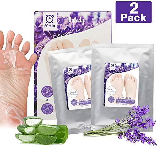 Foot Peel Mask, Foot Peeling Mask for Soft Baby Feet - Hard Skin Remover Foot Mask, Verwijdert eelt en harde huid, Voetverzorging