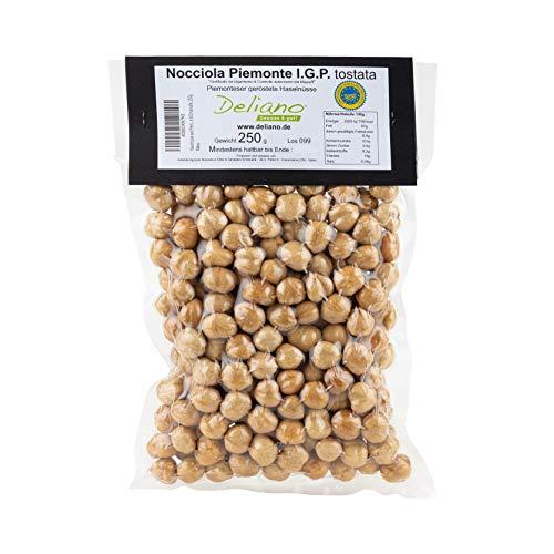 Deliano geröstete Haselnüsse igp Nüsse ganz geschält tonda gentile natur 250 g