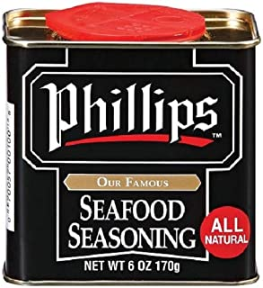 Phillips Seafood Seasoning - Maryland's World Famous Shrimp, Fish and Crab Cake Seasoning used in Phillip's Seafood Restau...