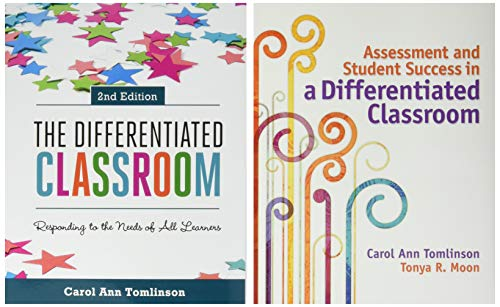 Differentiated Instruction 2-Book Set: The Differentiated Classroom, 2nd ed., & Assessment and Student Success in a Diff
