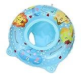 Cloud Kids Baby Kleinkind Schwimmring Aufblasbarer Schwimmreifen mit Armlehnen Schwimmsitz