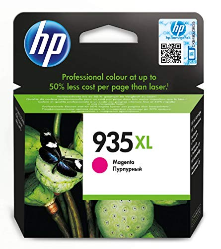 HP 935XL cartouche d'encre magenta authentique grande capacité pour HP OfficeJet 6230/6820/6830 (C2P25AE)