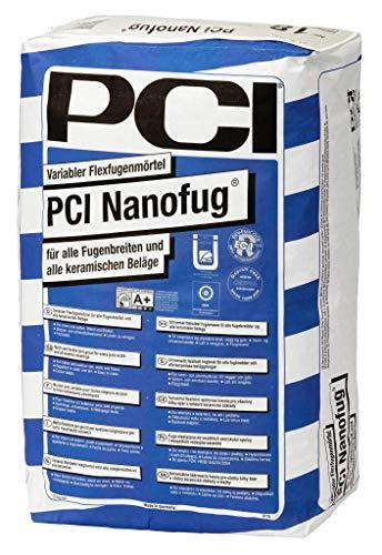 PCI Nanofug 15 kg, versch. Farben Basalt