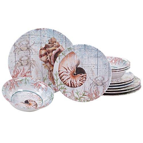 Sanibel Island-Themed Dinnerware