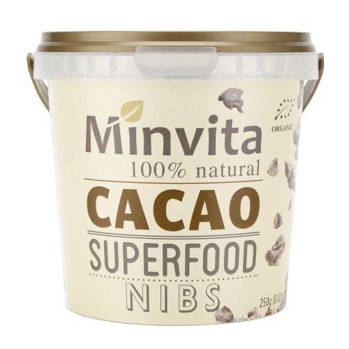 Minvita Organic Cacao Nibs 250g
