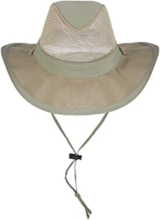 Men's 1 Piece Suplex Pinch Front Safari Hat