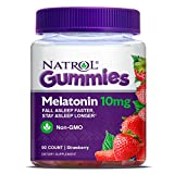 FALL ASLEEP FASTER: Natrol Melatonin 10 mg Gummies are a nighttime sleep aid.  Melatonin is naturally produced by our bodies to help manage sleep cycles, but its balance can be easily disrupted. Natrol Melatonin helps you fall asleep faster, stay asl...