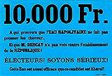 1876 Affiche lectorale lilloise humoristique Electoral