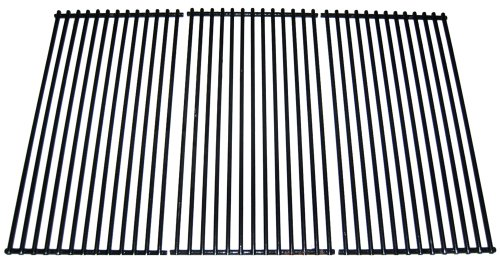 Music City Metals 54453 Porcelain Steel Wire Cooking Grid Replacement for Select Centro and Charbroil Gas Grill Models, Set of 3