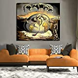 Aaubsk Puzzle 1000 Piezas Regalos Abstractos del Arte de la Pintura al óleo del Arte de la Lona Puzzle 1000 Piezas paisajes Rompecabezas de Juguete de descompresión Intelectual Gran50x75cm(20x30inch)