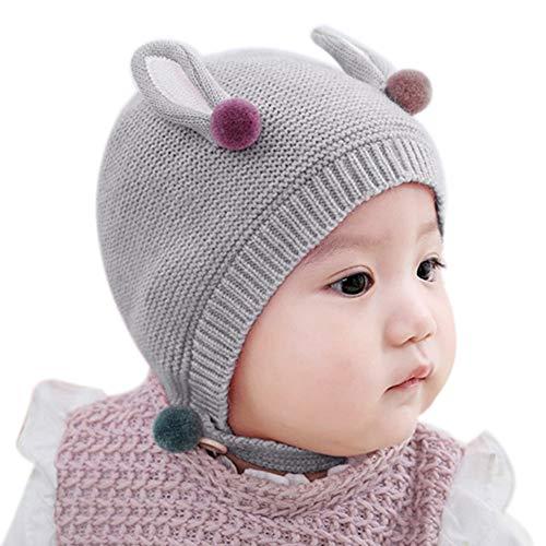 Demarkt - Sombrero - para bebé niña gris gris