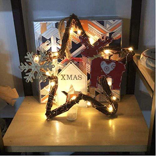 Meixian Wandlamp, 3 x 3 m, ijspegels, gordijn, lamp, Kerstmis, lamp voor bruiloft, familie, tuin, buiten, slaapkamer, binnenwanddecoratie, 3 x 1 eenvoudig retro