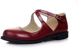 BalaMasa Womens ASL06928 Pu Flats Sandals