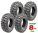 et of 4 Premium FREE COUNTRY ATV/UTV Tires 25x8-12 Front &...