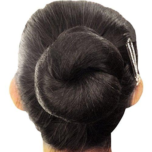 Filets Lot Of Hair Nets, invisible, élastique, 50 cm, pour arrêter les cheveux