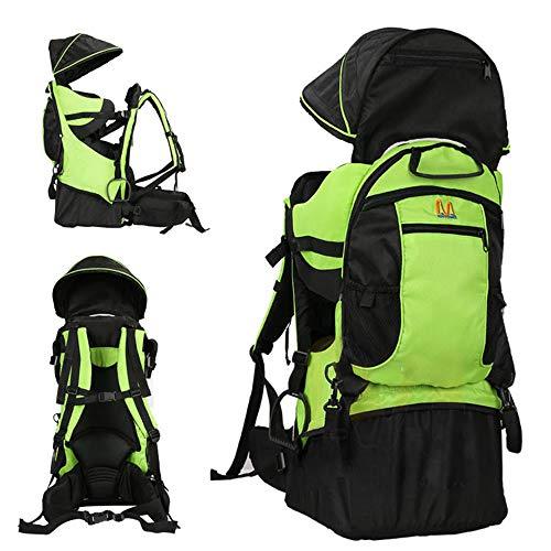 Lixada Zaino per Neonati, Titolare del Bambino con Visiera Parasole per L'escursionismo Campeggio Arrampicata Portata Massima:25kg