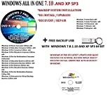 window 7 ultimate 64 bit - WINDOWS 7/10 AND XP PRO SP3 (2 DVD) SUITE ULTIMATE PRO 64-BIT UPDATED JAN 2020 FACTORY FRESH RECOVERY FIX REINSTALL RESTORE REPAIR REPLACE INSTALL COMPATIBLE WITH MICROSOFT