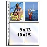Hama Photohüllen A4, weiß, 10 x 15 cm