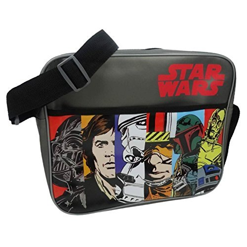 Star Wars TMSTAR001013 Sac bandoulière officiel vintage