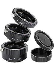 Impulsfoto - Kit de objetivos automáticos de 3 partes (31mm, 21mm y 13mm) para macrofotografías, para cámaras Canon EF/EF-S EOS 1100D, 1000D, 700D, 650D, 600D, 550D, 500D, 450D, 400D, 350D, 300D, 100D, 50D, 40D, 30D, 20D, 10D, 7D, 6D, 5D Serie, 1V Serie, 1D Serie, etc.