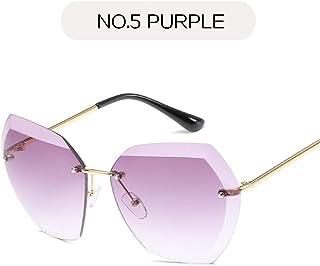 df5c3759c9 YLNJYJ Gafas De Sol Gafas De SolGafas Caleidoscópicas Gafas De Sol Sin  Marco Gafas De Gran