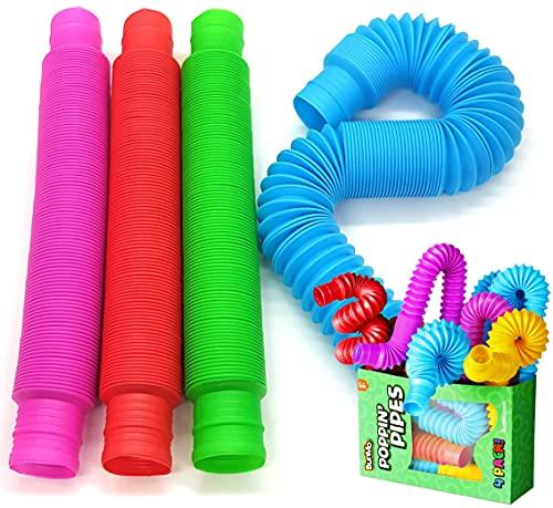 BunMo Pop Tubes Sensory Toys