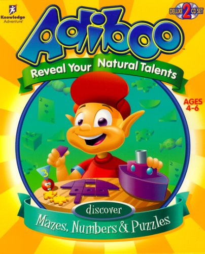 Price comparison product image Adiboo: Discover Mazes,  Numbers & Puzzles