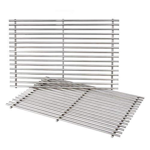 SHINESTAR Stainless Steel Grill Grates for Weber Spirit 300 Series, for Weber Genesis Silver B/C,...