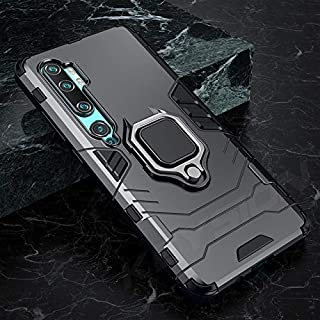 SIZOO - Fitted Cases - Shockproof Armor Case for for Xiaomi Mi Note 10 Mi 9 Pro Holder Car Ring Phone Back Cover for for X...
