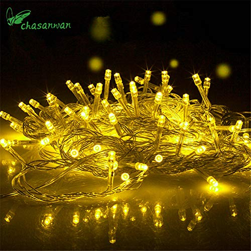 Noel 10M 100LED Lighting Wedding Fairy Christmas Lights Outdoor Twinkle Decor Tree Lights for New Year Holiday Party Navidad.