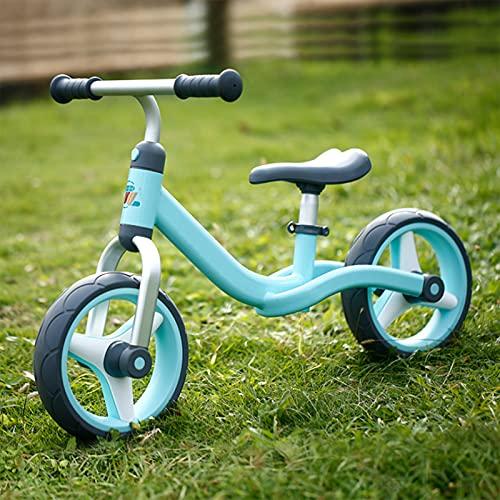 Women's Health Bicicleta de Equilibrio, Bicicleta para Caminar, Bicicleta Sin Pedales, First Bike para Niños, Niños Pequeños Pedales Juguetes, Bicicletas Sin Pedales para Niños, 10 Pulgadas