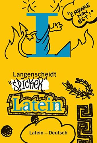 Langenscheidt Spicker Latein: Latein-Deutsch