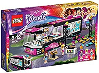 lego friends pop star bus