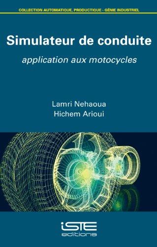 Simulateur de conduite: Application aux motocycles