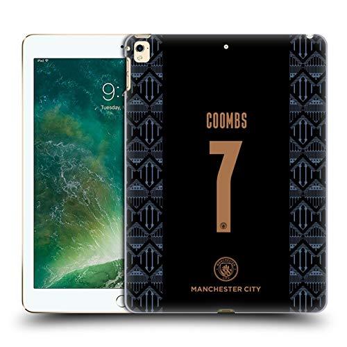 Head Case Designs Licenciado Oficialmente Manchester City Man City FC Laura Coombs 2020/21 Mujer Lejos Kit Grupo 2 Carcasa rígida Compatible con Apple iPad Pro 12.9 (2017)